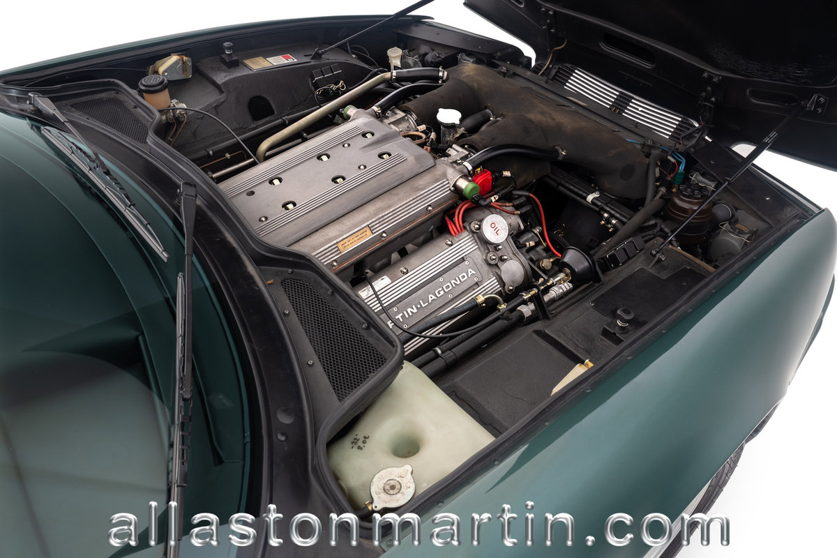 1991 Exceptional Swiss Registered LHD Aston Martin Virage Auto. For Sale (picture 5 of 6)