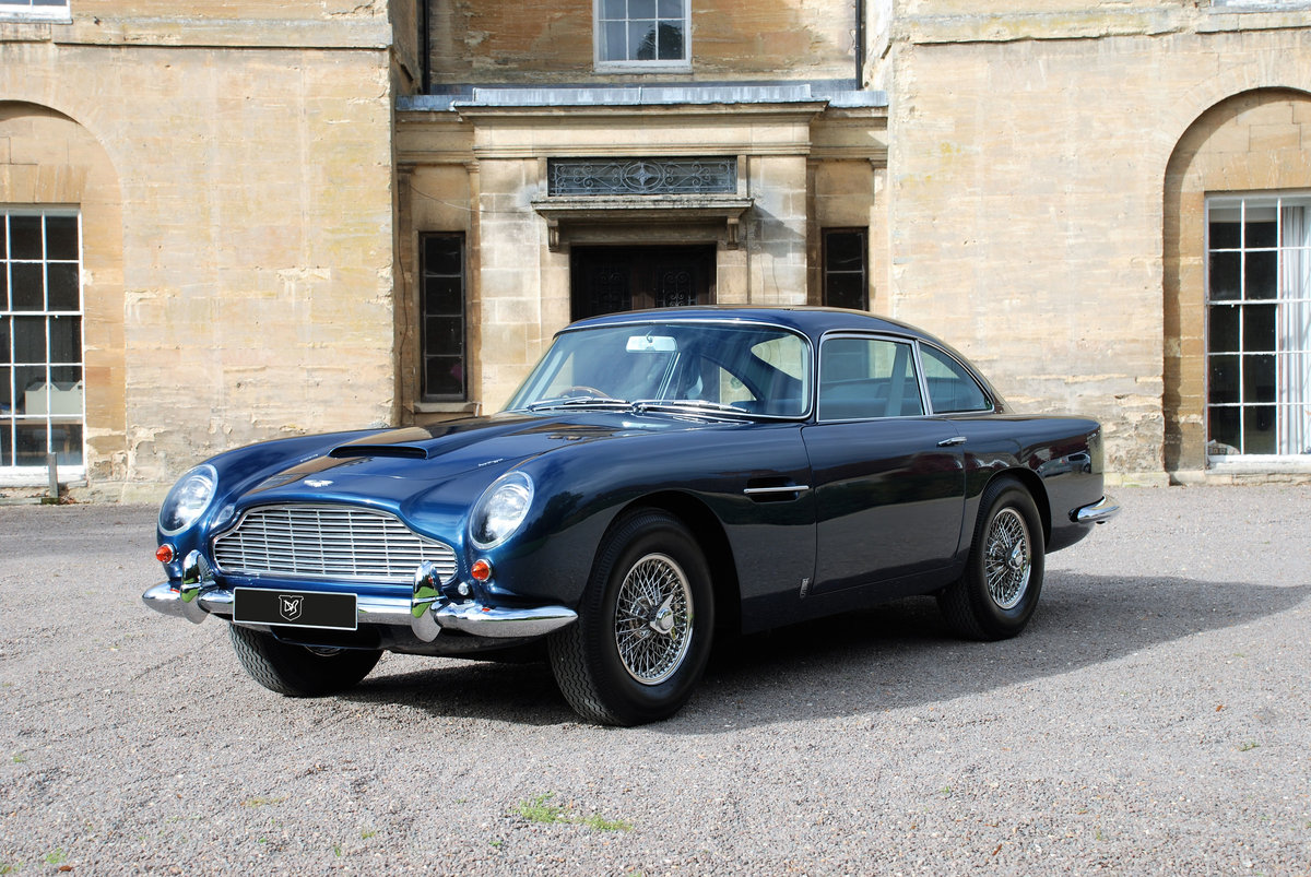 1965 Aston Martin DB5 Saloon with just 34,000 miles from new! SOLD (picture 1 of 6)