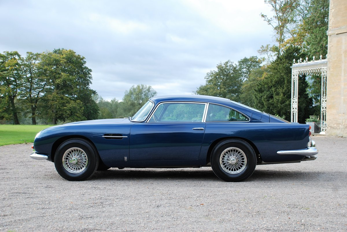 1965 Aston Martin DB5 Saloon with just 34,000 miles from new! SOLD (picture 2 of 6)