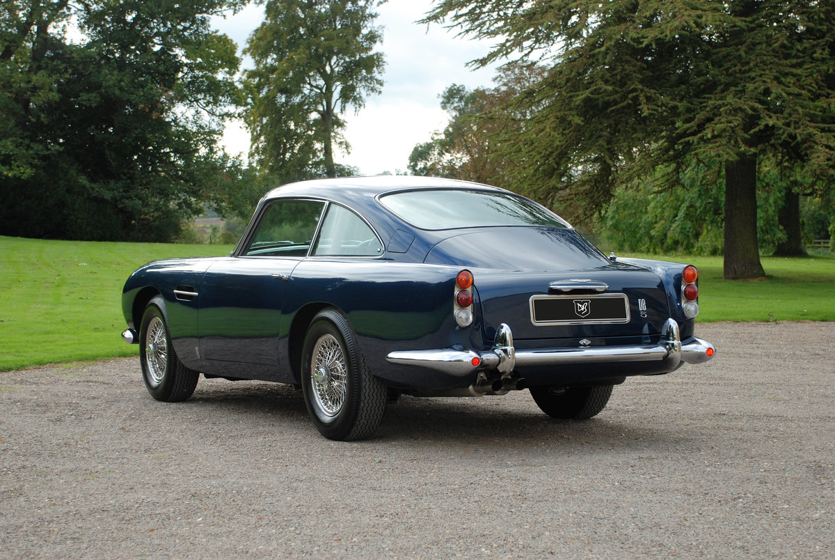 1965 Aston Martin DB5 Saloon with just 34,000 miles from new! SOLD (picture 3 of 6)