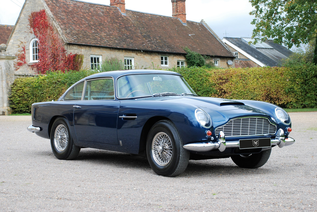 1965 Aston Martin DB5 Saloon with just 34,000 miles from new! SOLD (picture 4 of 6)