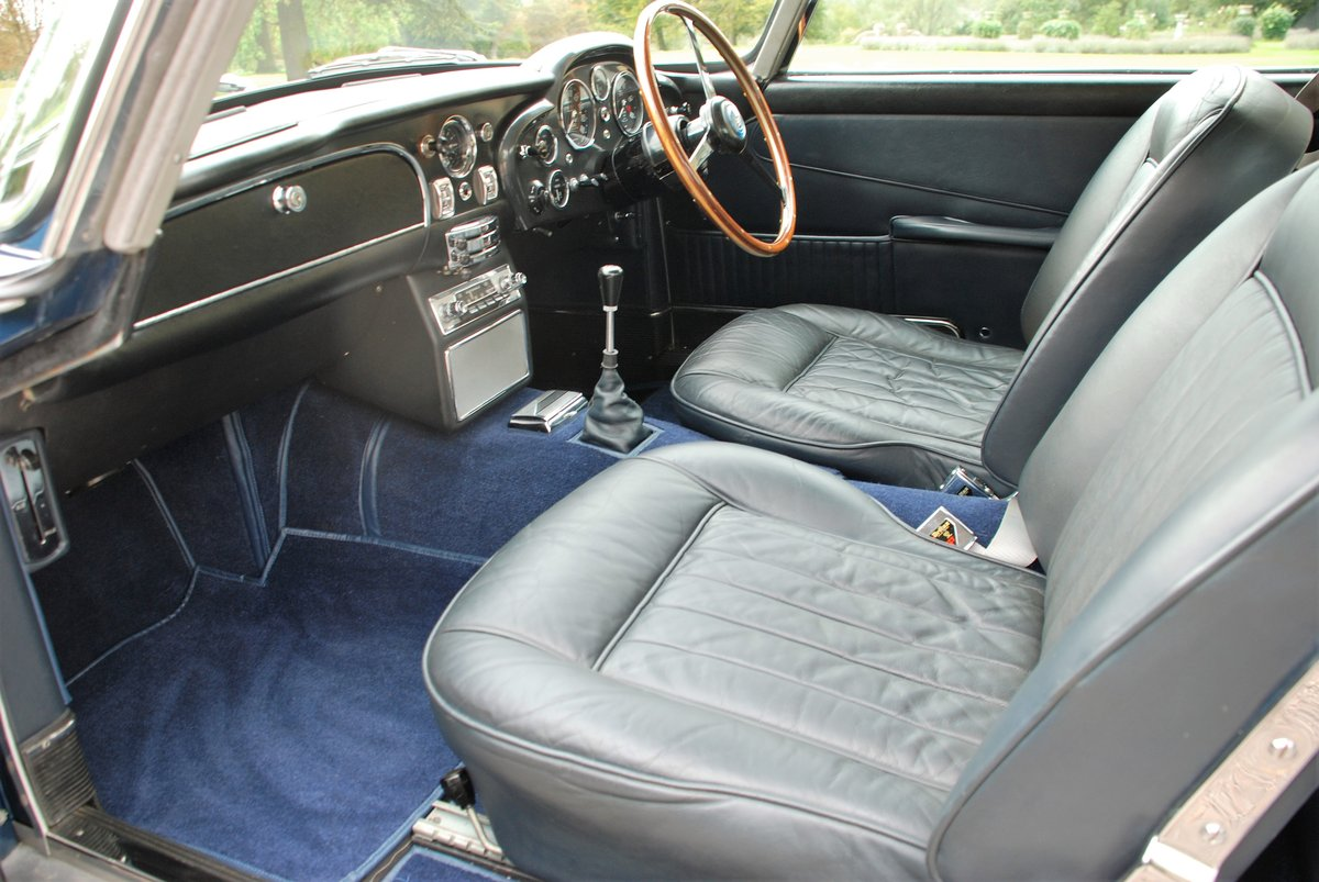 1965 Aston Martin DB5 Saloon with just 34,000 miles from new! SOLD (picture 5 of 6)