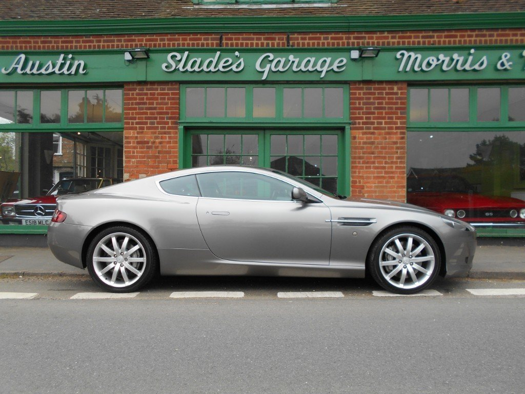 2005 Aston Martin DB9 Coupe Touchtronic SOLD (picture 1 of 4)