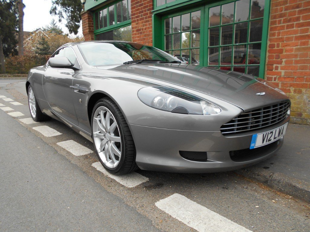 2005 Aston Martin DB9 Coupe Touchtronic SOLD (picture 2 of 4)