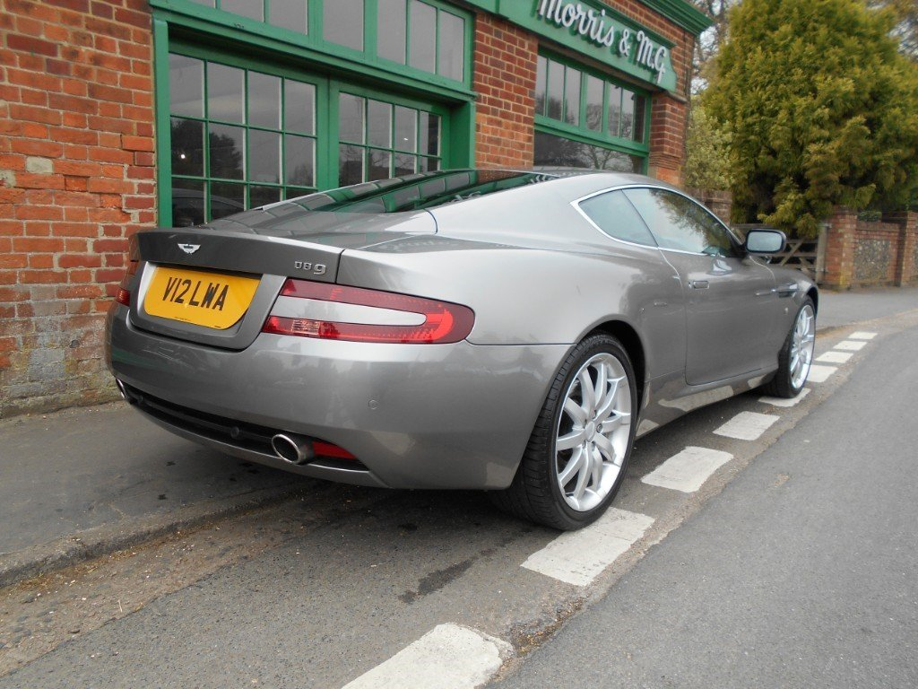 2005 Aston Martin DB9 Coupe Touchtronic SOLD (picture 3 of 4)