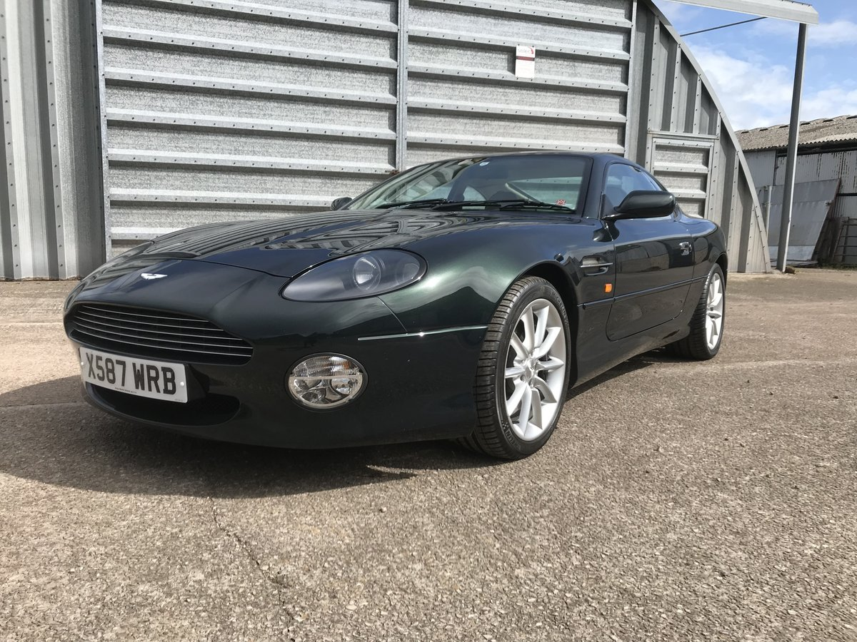 2000 DB7 V12 VANTAGE - LOW MILEAGE - GREAT CONDITION For Sale (picture 1 of 6)