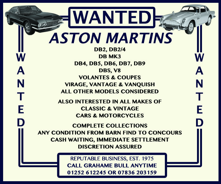 WANTED! ASTON MARTIN Wanted (picture 1 of 1)