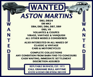 Picture of WANTED! ASTON MARTIN