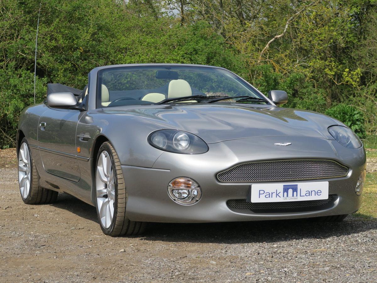 2002 Aston Martin DB7 V12 Vantage Volante  For Sale (picture 1 of 6)