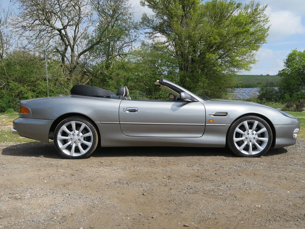 2002 Aston Martin DB7 V12 Vantage Volante  For Sale (picture 2 of 6)