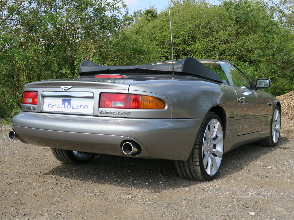 2002 Aston Martin DB7 V12 Vantage Volante  For Sale (picture 3 of 6)