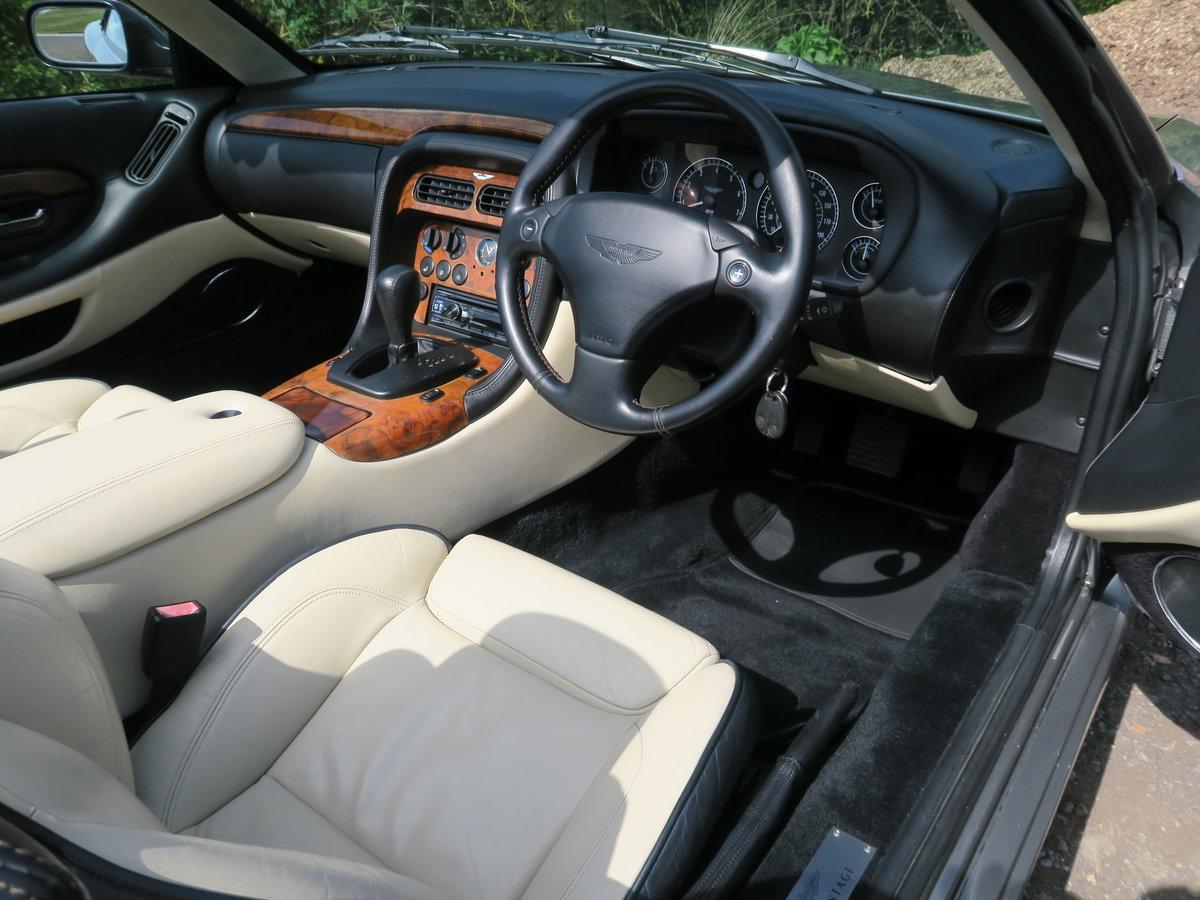 2002 Aston Martin DB7 V12 Vantage Volante  For Sale (picture 6 of 6)