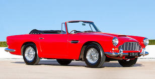 1963 ASTON MARTIN DB4 SERIES V CONVERTIBLE For Sale by Auction