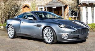 2004 ASTON MARTIN VANQUISH COUPÉ For Sale by Auction