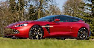 2019 ASTON MARTIN VANQUISH ZAGATO SHOOTING BRAKE For Sale by Auction