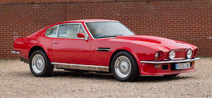 1985 ASTON MARTIN V8 VANTAGE SPORTS SALOON For Sale by Auction