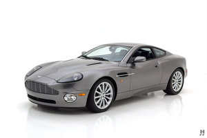 2002 ASTON MARTIN VANQUISH 6 SPEED MANUAL COUPE For Sale