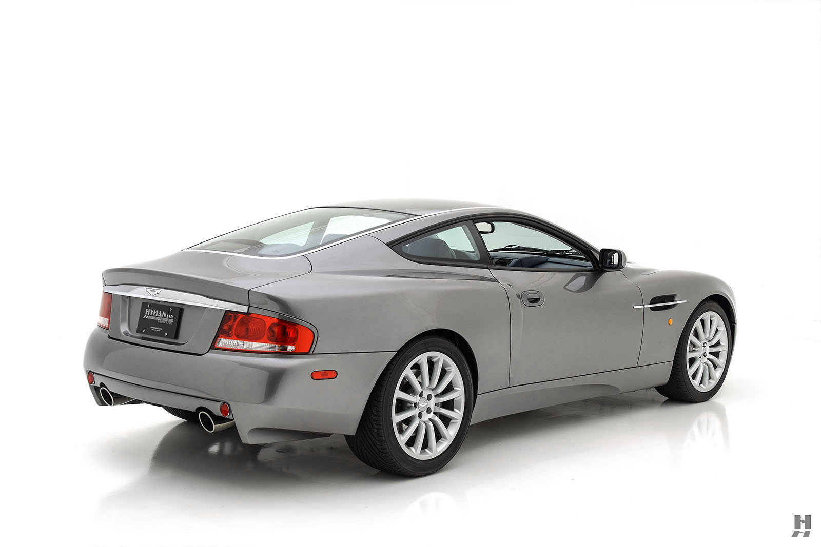 2002 ASTON MARTIN VANQUISH 6 SPEED MANUAL COUPE For Sale (picture 5 of 6)