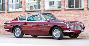 1966 ASTON MARTIN DB6 VANTAGE SPORTS SALOON For Sale by Auction
