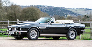 1989 ASTON MARTIN V8 VOLANTE For Sale by Auction