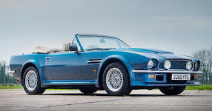 1987 ASTON MARTIN V8 VANTAGE 'X-PACK' VOLANTE For Sale by Auction