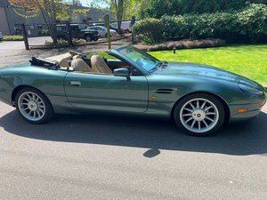 1997 Aston Martin DB7 Volante = Go Green(~)Tan $31.5k For Sale