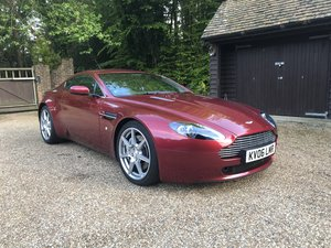 2006 Immaculate Vantage in Torro Red For Sale