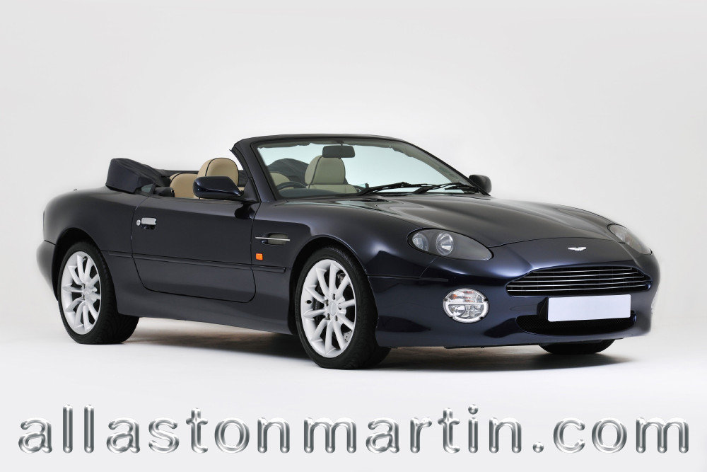 2002 Exceptional Aston Martin DB7 Vantage Volante Manual For Sale (picture 1 of 6)