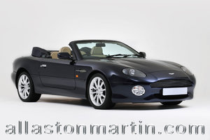 2002 Exceptional Aston Martin DB7 Vantage Volante Manual For Sale