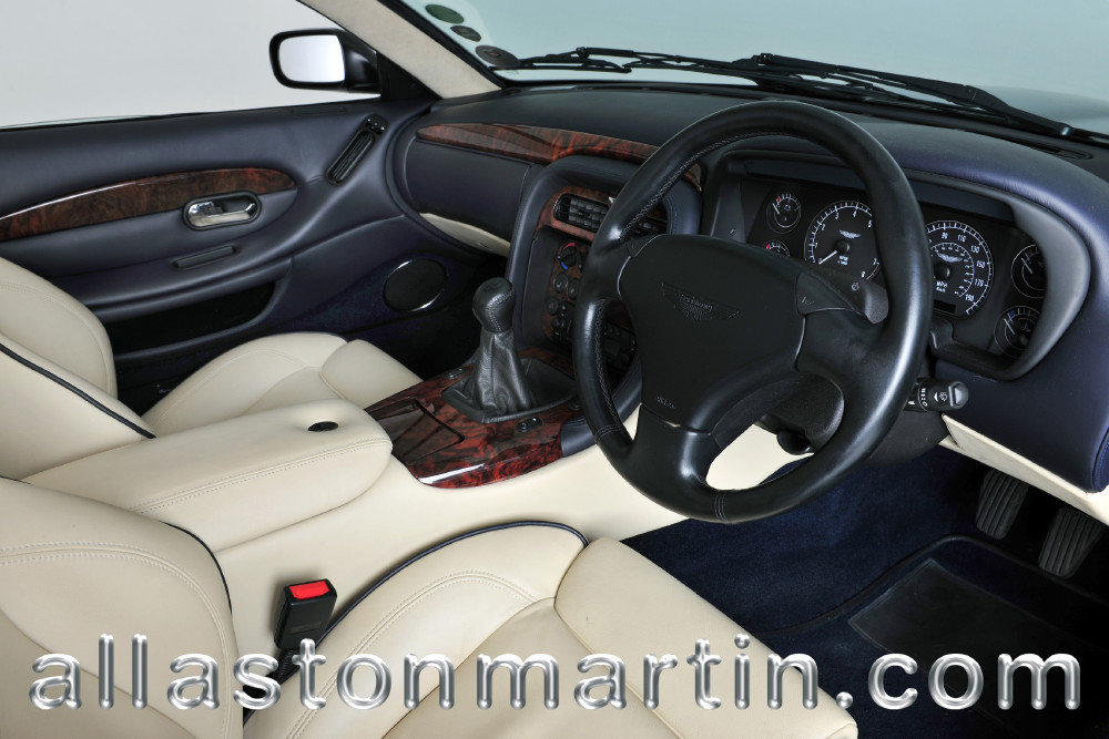 2002 Exceptional Aston Martin DB7 Vantage Volante Manual For Sale (picture 3 of 6)