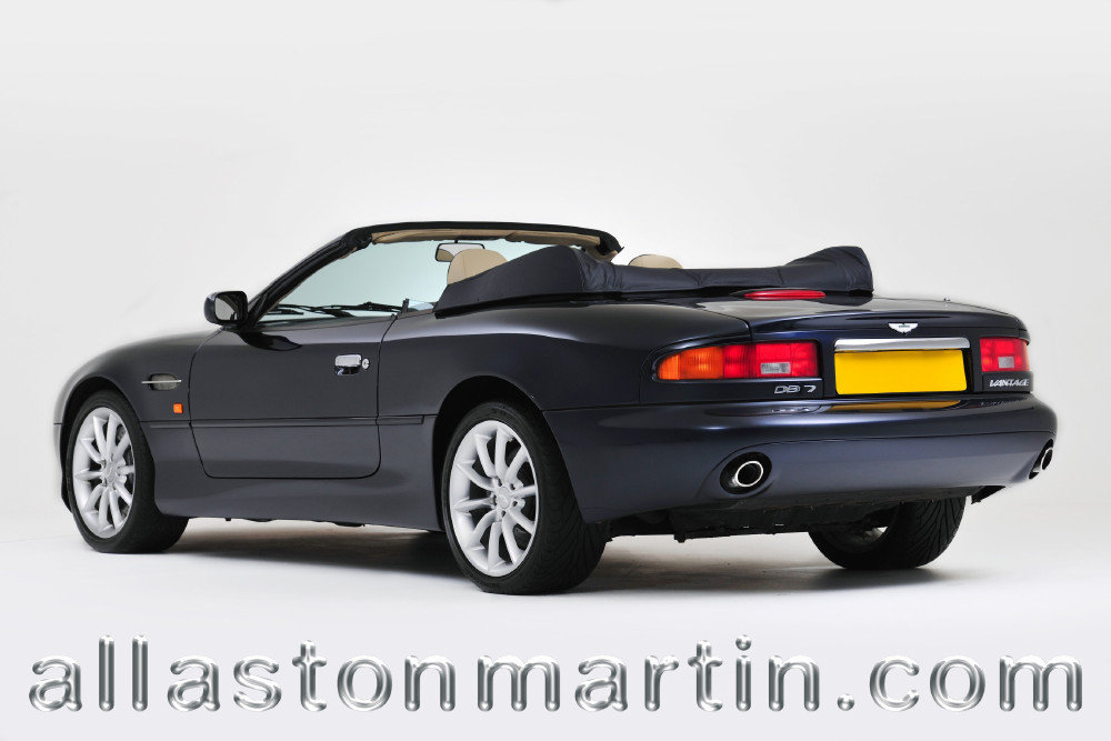 2002 Exceptional Aston Martin DB7 Vantage Volante Manual For Sale (picture 4 of 6)