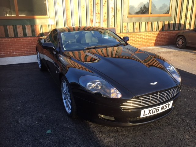2006 Immaculate Aston Martin DB9. FSH, MOT April 2020 For Sale (picture 1 of 6)