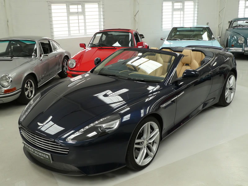 2015 Aston Martin DB9 Volante  SOLD (picture 2 of 6)