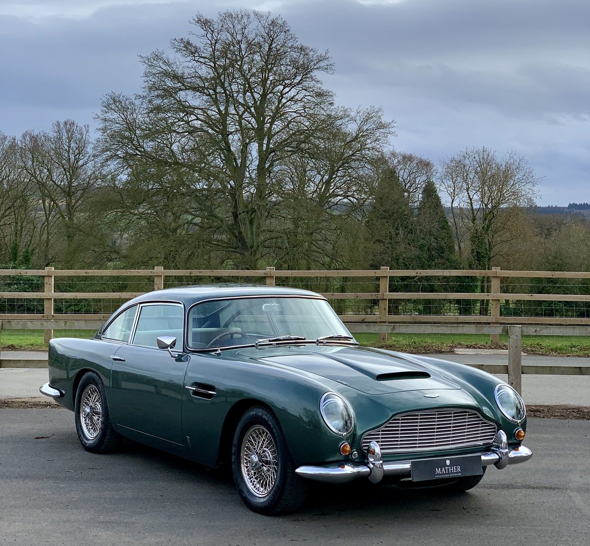 1964 Aston Martin DB5 Coupe  For Sale (picture 3 of 6)