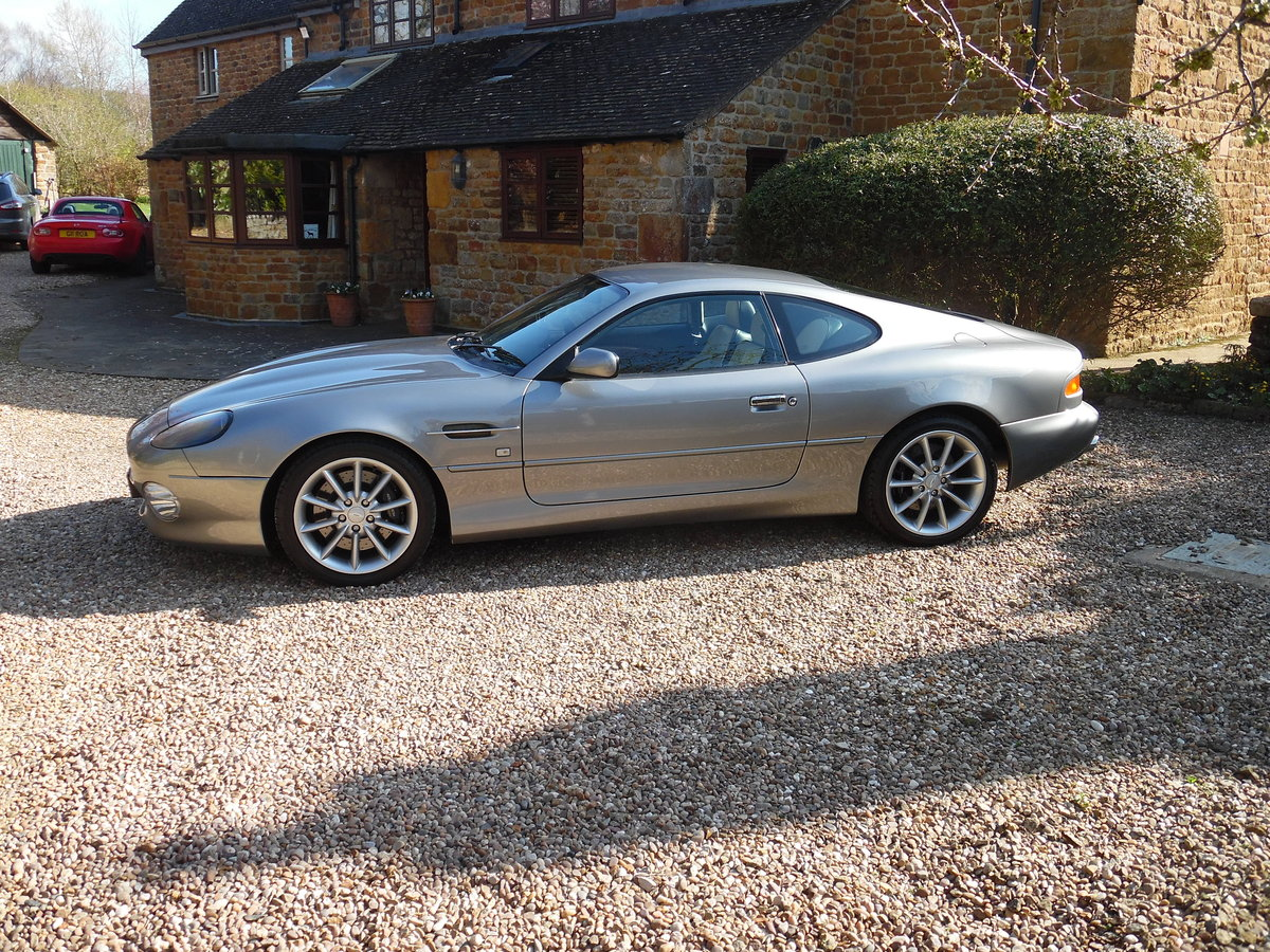 2003 Aston Martin DB7 Vantage coupe For Sale (picture 1 of 6)