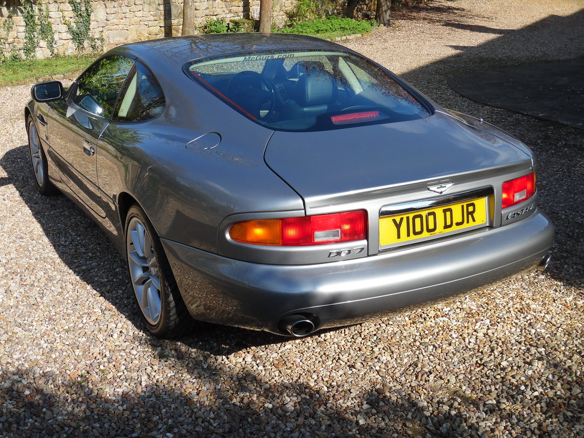 2003 Aston Martin DB7 Vantage coupe For Sale (picture 3 of 6)