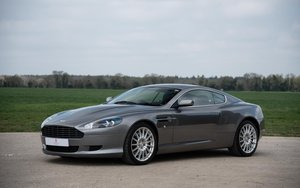2004 Aston Martin DB9 Touchtronic - Tungsten over Black For Sale