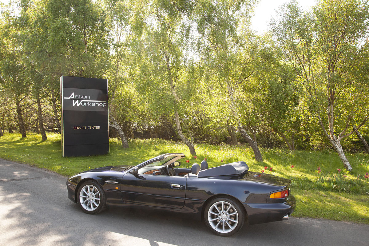 2000 DB7 VANTAGE VOLANTE  SOLD (picture 3 of 6)