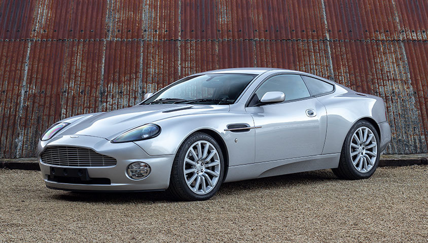 2004 Aston Martin Vanquish V12 For Sale