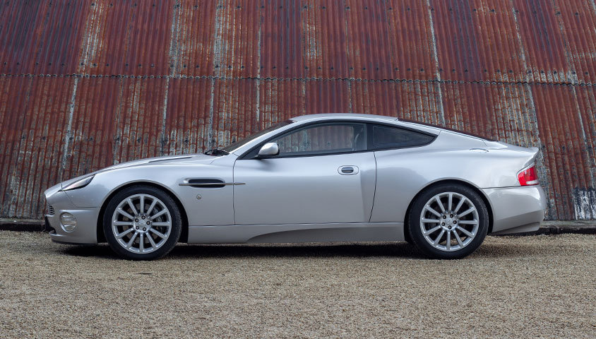 2004 ASTON MARTIN VANQUISH V12 SOLD (picture 4 of 6)