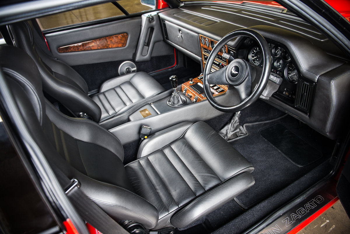 1986 Aston Martin V8 Zagato For Sale (picture 4 of 6)
