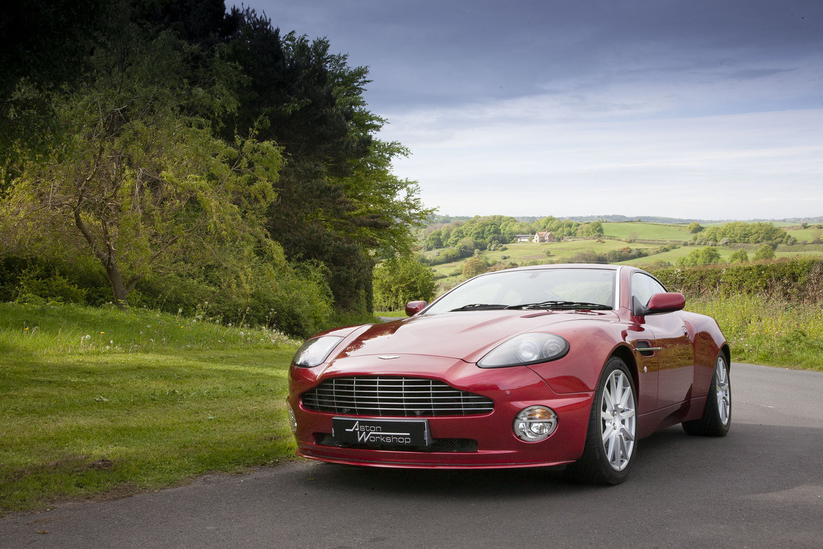 2005 Aston Martin Vanquish S For Sale (picture 1 of 6)