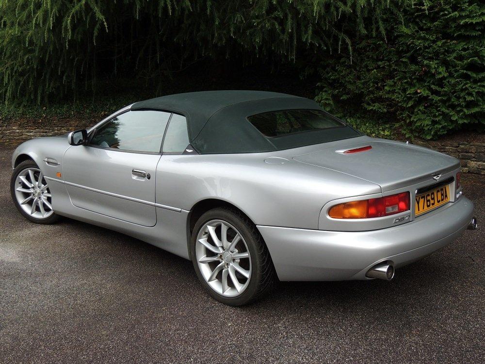 2001 Aston Martin DB7 Vantage Volante  For Sale (picture 2 of 6)