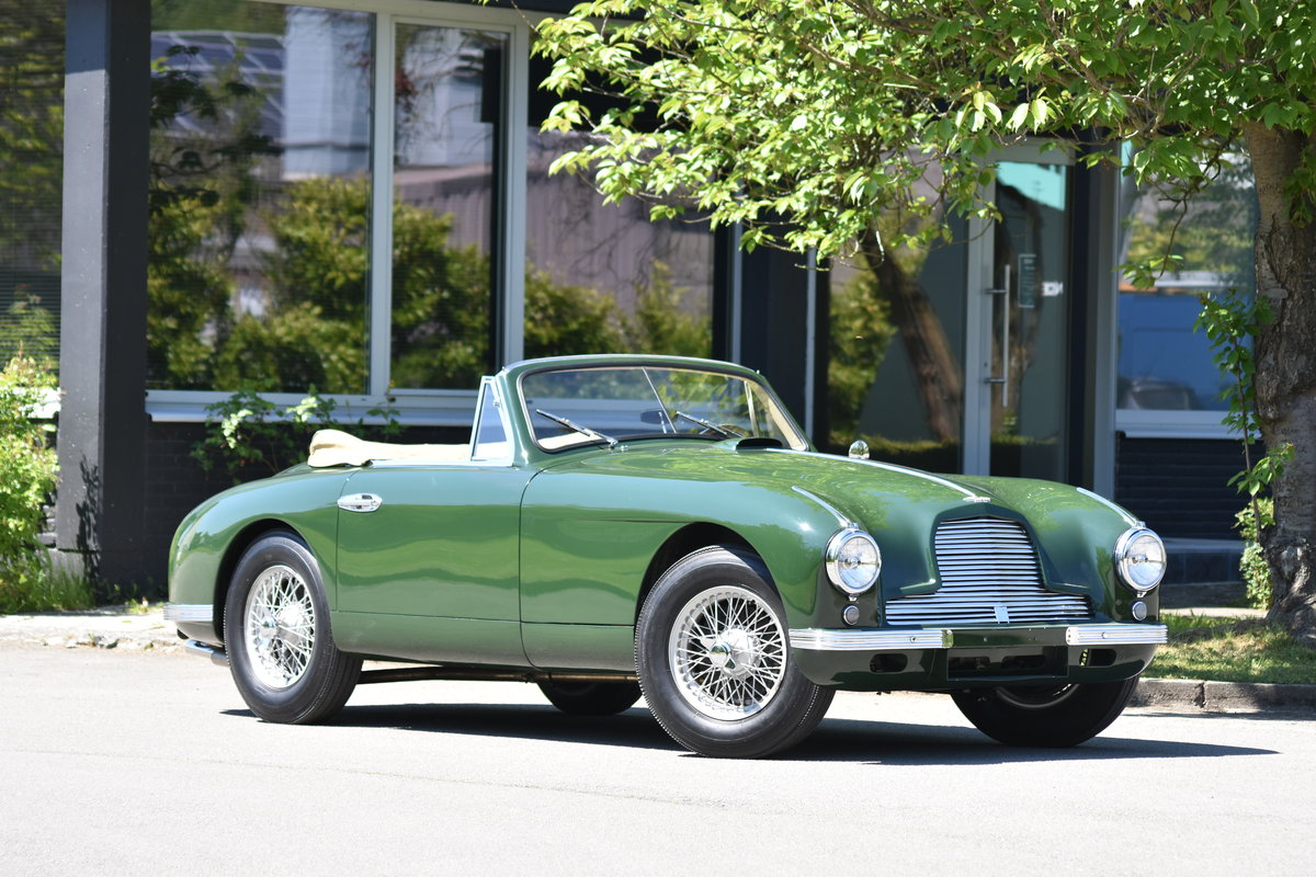 1953 Aston Martin DB2 Vantage DHC LHD For Sale by Auction (picture 1 of 5)