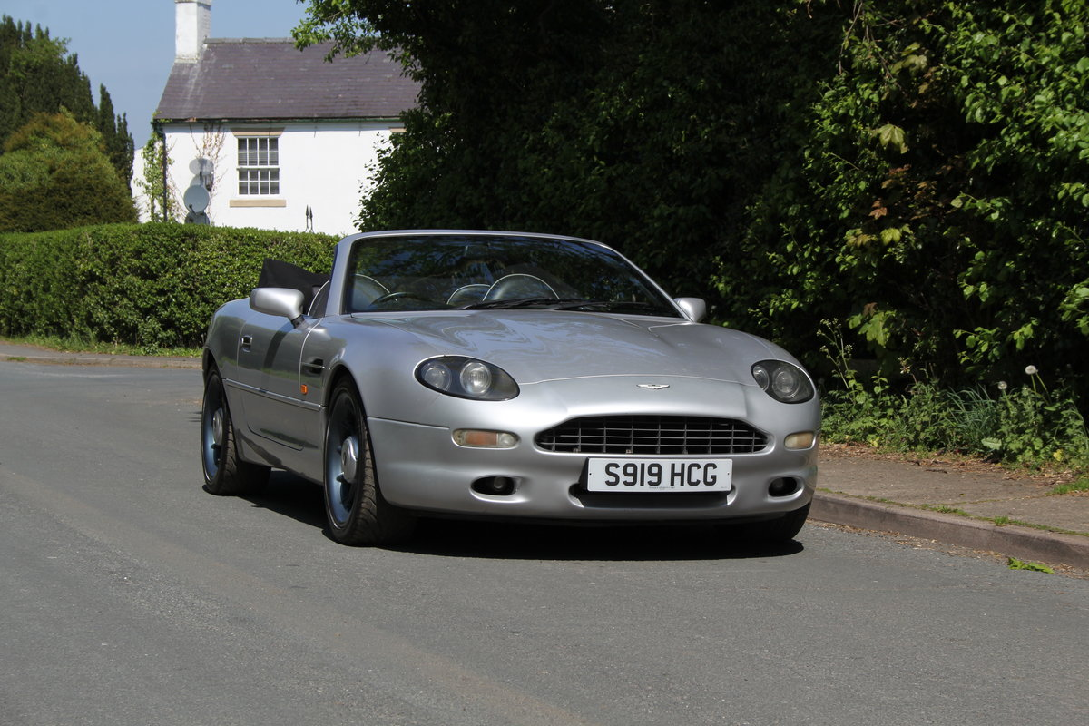 1998 Aston Martin DB7 Convertible - Alfred Dunhill Edition For Sale (picture 1 of 12)