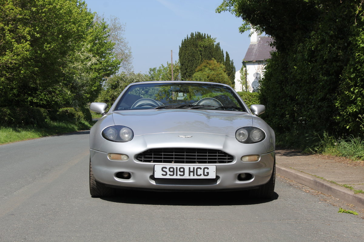1998 Aston Martin DB7 Convertible - Alfred Dunhill Edition For Sale (picture 2 of 12)