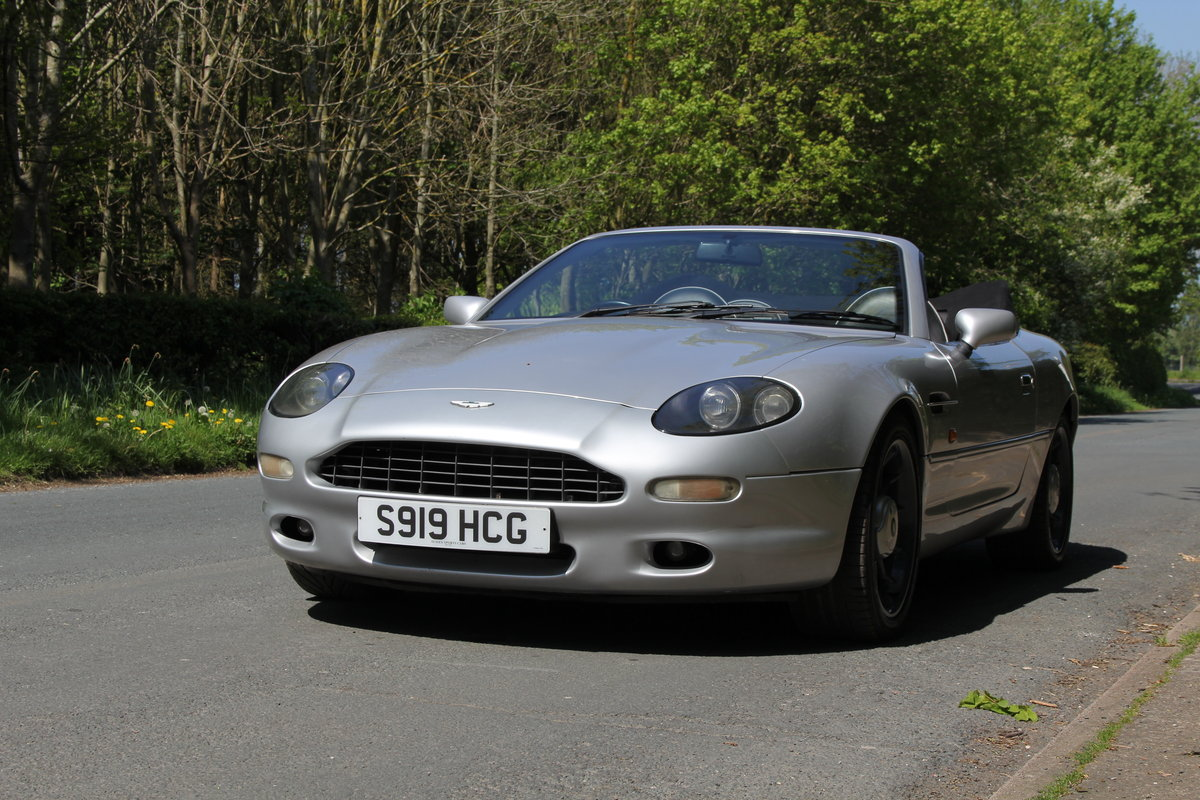 1998 Aston Martin DB7 Convertible - Alfred Dunhill Edition For Sale (picture 3 of 12)