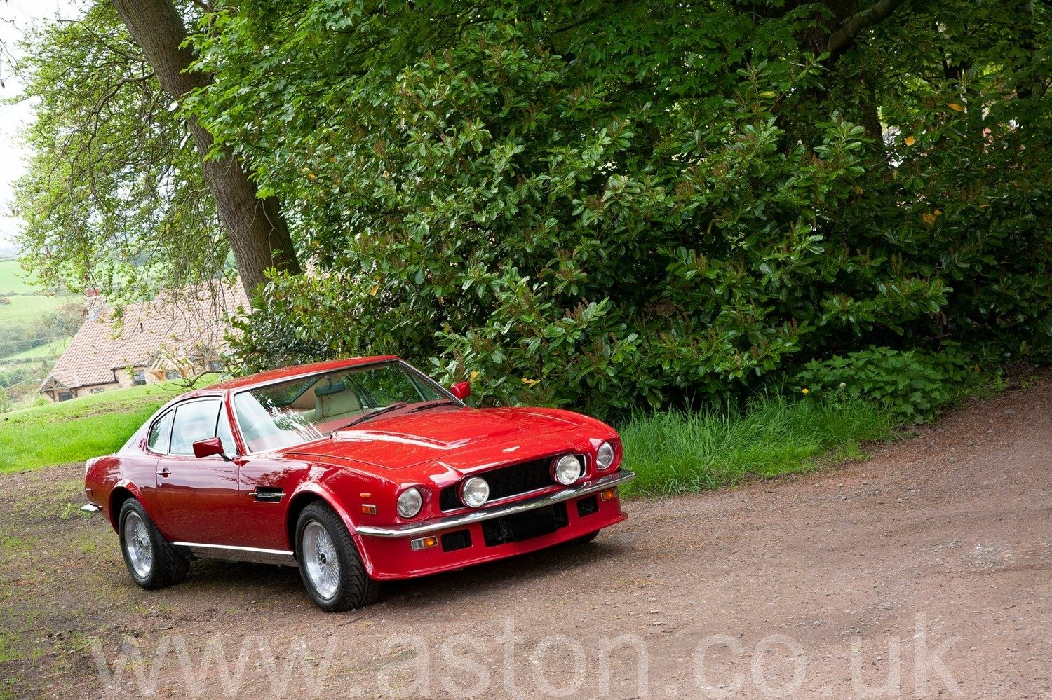 One Owner 1980 Aston Martin V8 Series IV 'Oscar India' X pac SOLD (picture 1 of 6)