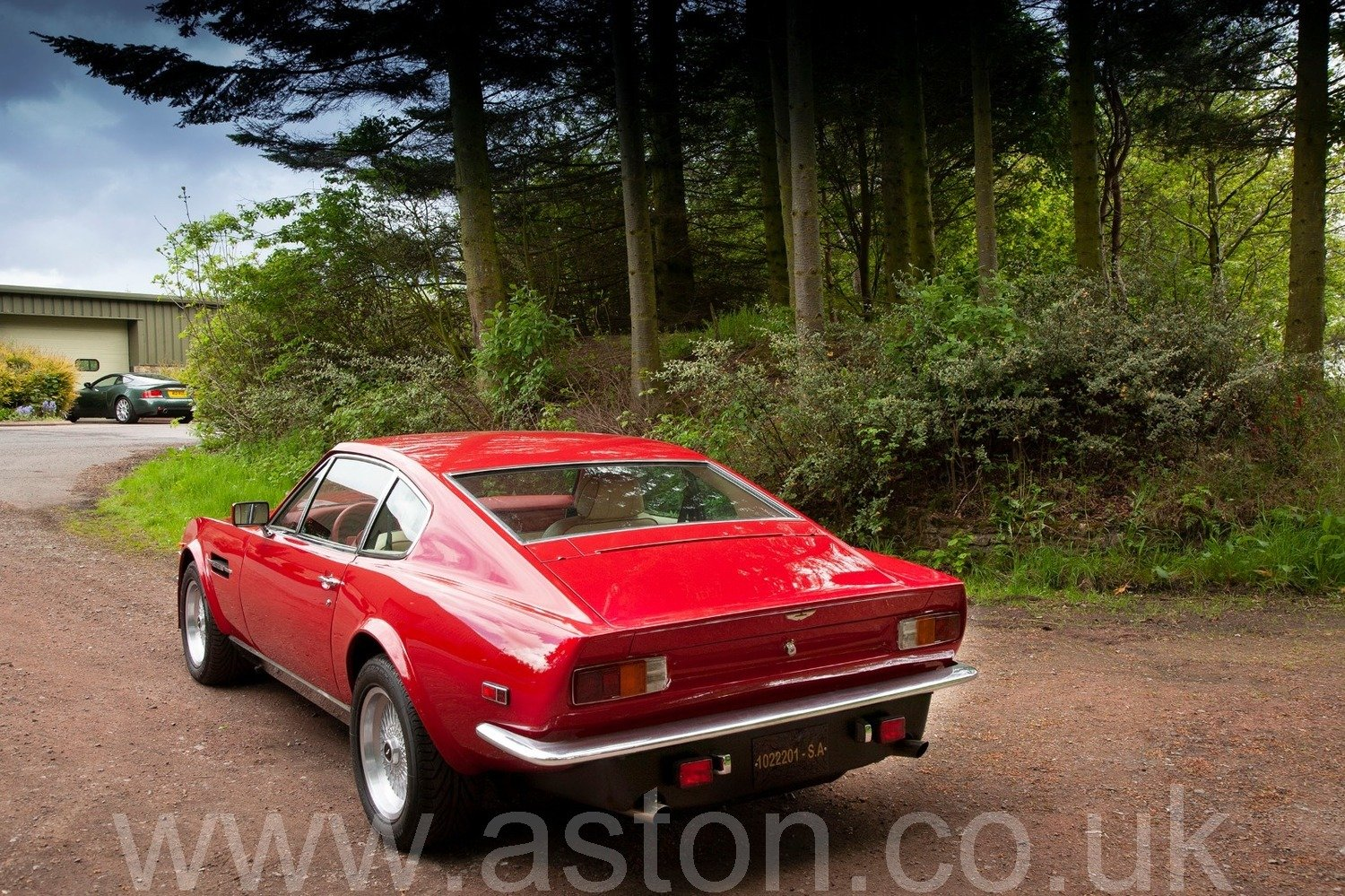 One Owner 1980 Aston Martin V8 Series IV 'Oscar India' to X For Sale