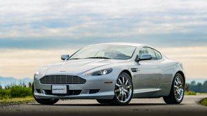 2005 Aston Martin DB9 Coupe = Titanium Silver(~)Green $48.9  For Sale